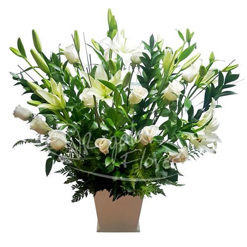Arreglo Lilium Y Rosas Regalar Flores Envio De Flores