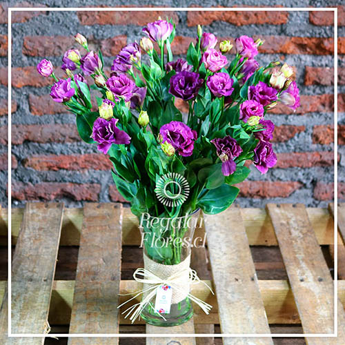 Florero Simple Lisianthus